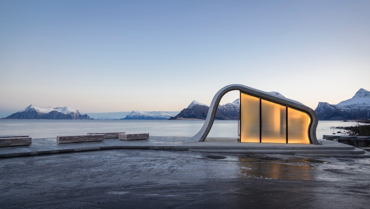 Verdens vakreste toalett