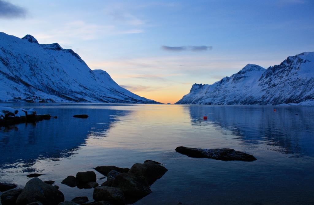 Ersfjorden Foto: Heidi Rudolfsen